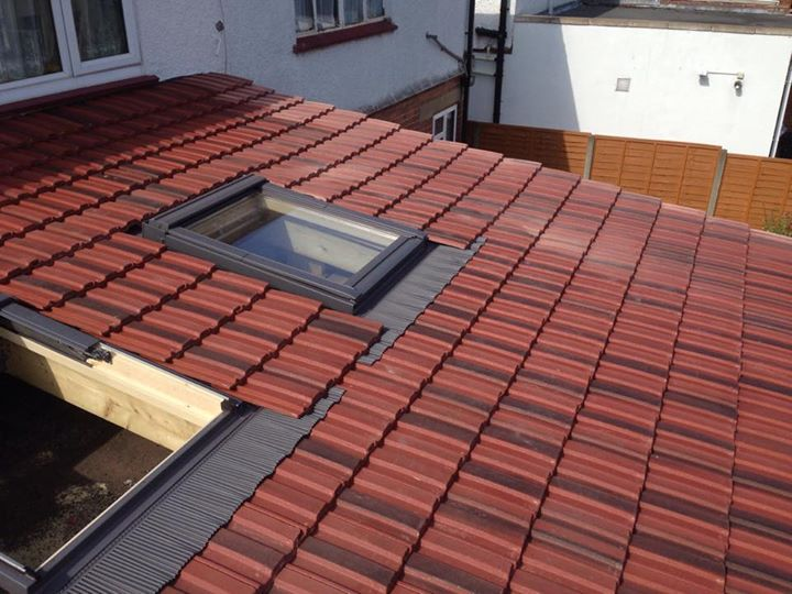 Hayes little low pitch lean to with velux windows hsoc Low pitched roof